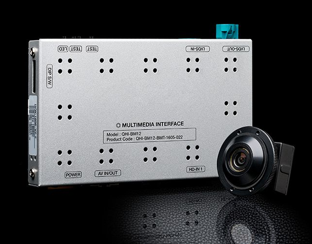 Front-view Camera with HD interface